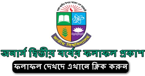 NU Honours 2nd Year Result 2021