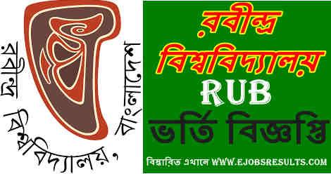 Rabindra University Admission Circular 2021 22