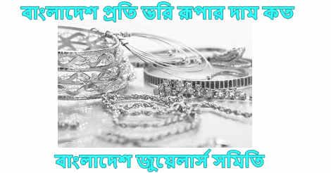 Silver price in Bangladesh 2021